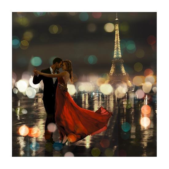 Midnight in Paris-Dianne Loumer-Giclee Print