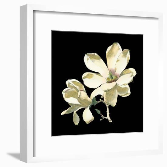 Midnight Magnolias I-Chabal Dussurgey-Framed Art Print