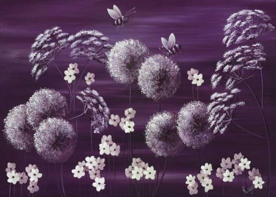 Midnight Meadow-Kaye Lake-Art Print