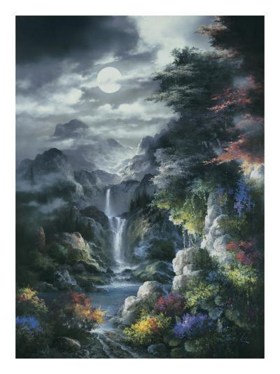 Midnight Mist Canyon-James Lee-Art Print