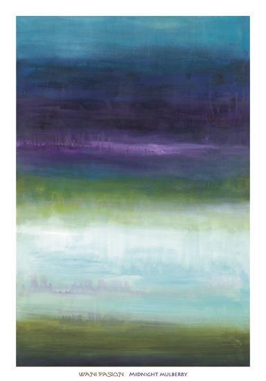 Midnight Mulberry-Wani Pasion-Art Print