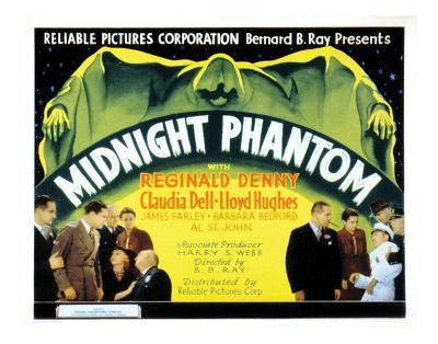 Midnight Phantom - 1935--Giclee Print