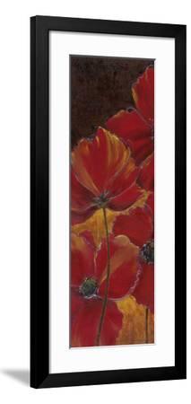 Midnight Poppy I-Richard Henson-Framed Art Print