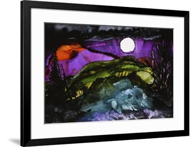 Midnight Sky-Michelle McCullough-Framed Giclee Print