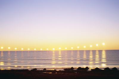 Midnight Sun over Sigurdarstadavik Bay-Paul Souders-Photographic Print