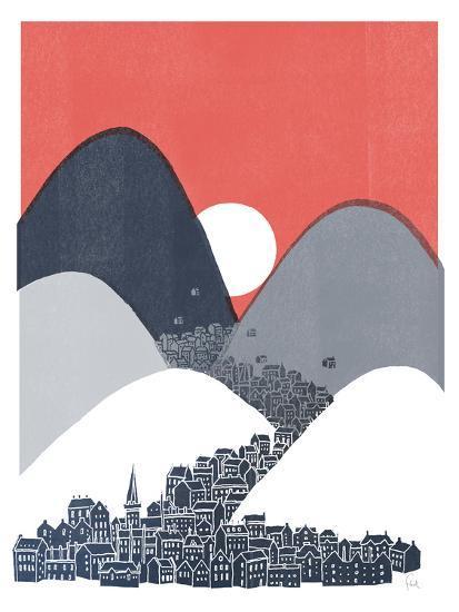 Midnight Sun-David Fleck-Art Print