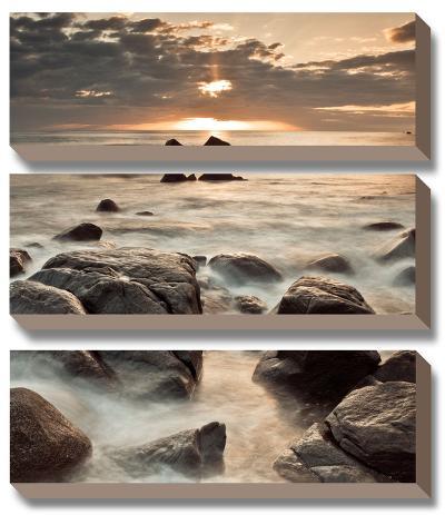 Midnight Sunrise-Assaf Frank-Canvas Art Set