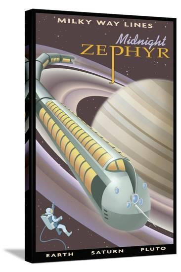 Midnight Zephyr-Steve Thomas-Stretched Canvas Print