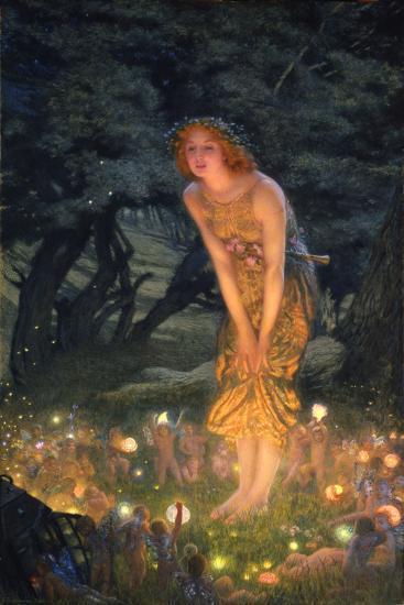 Midsummer Eve-Edward Robert Hughes-Premium Giclee Print