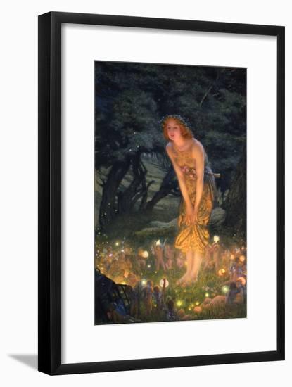 Midsummer Eve-Edward Robert Hughes-Framed Giclee Print