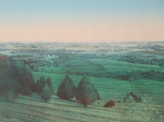 Midsummer Landscape-James Butler-Limited Edition