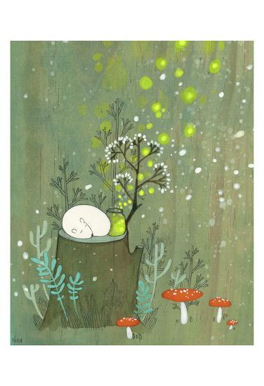 Midsummer-Kristiana P?rn-Art Print