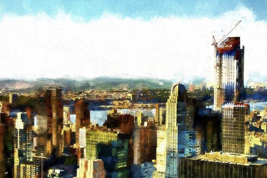 Midtown Manhattan II-Philippe Hugonnard-Giclee Print