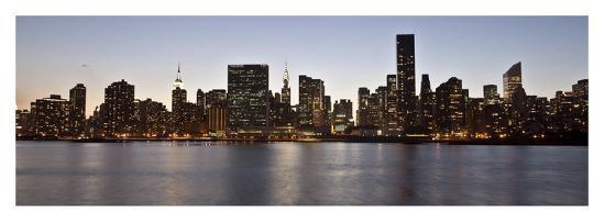 Midtown Manhattan skyline, NYC-Michel Setboun-Giclee Print