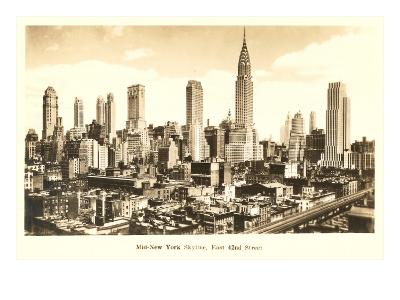 Midtown Skyline, New York City--Art Print
