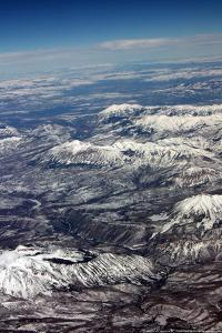 Midwest Mountains From The Air