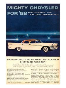 Mighty Chrysler for 58-Windsor