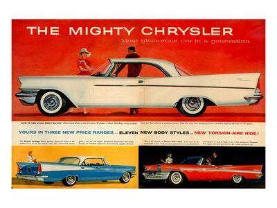 Mighty Chrysler Most Glamorous--Art Print