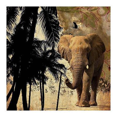 Mighty Elephant 2-GraphINC-Art Print