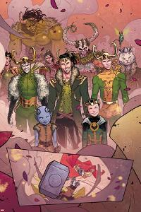 Mighty Thor No.3 Panel, Featuring Loki and Thor (Female)