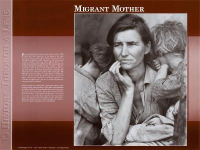 Migrant Mother, c.1936--Art Print