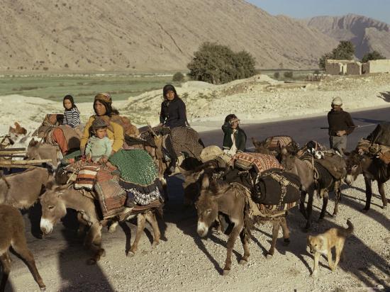 Migration of the Qashgai Tribe, Iran, Middle East-Sybil Sassoon-Photographic Print
