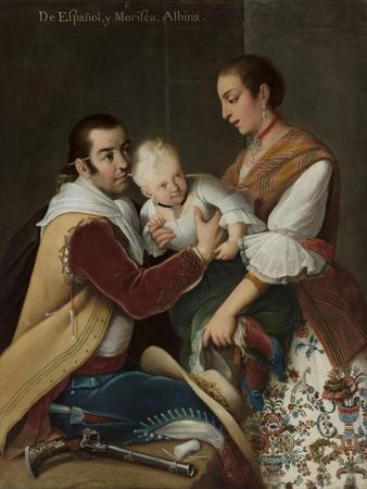 Albino Girl from Spaniard and Morisca, 1763