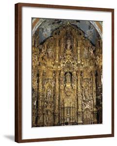 Altarpiece Dedicated to St. Francis Xavier, 1753 by Miguel Cabrera