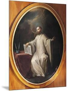 St Bernard of Clairvaux by Miguel Cabrera