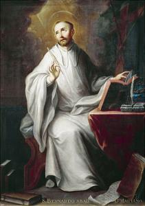 St Bernard by Miguel Cabrera