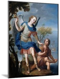 The Arcangel Raphael and Tobias by Miguel Cabrera