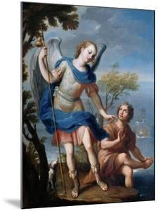 The Arcangel Raphael and Tobias by Miguel Cabrera