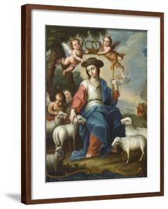 The Divine Shepherdess (La Divina Pastora), c.1760 by Miguel Cabrera