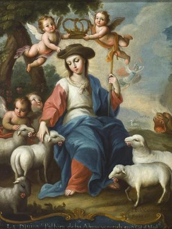 The Divine Shepherdess (La Divina Pastora), c.1760