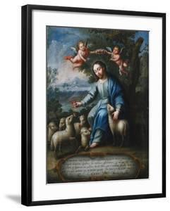 The Good Shepherd, El Buen Pastor, 1765 by Miguel Cabrera
