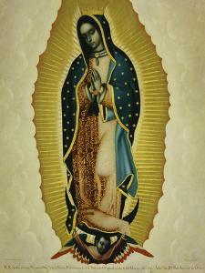 The Virgin of Guadaloupe, 1766 by Miguel Cabrera