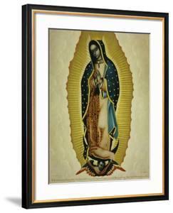 The Virgin of Guadaloupe, 1766 by Miguel Cabrera