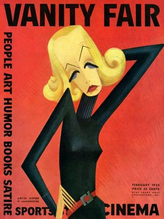 Vanity Fair Cover - February 1932