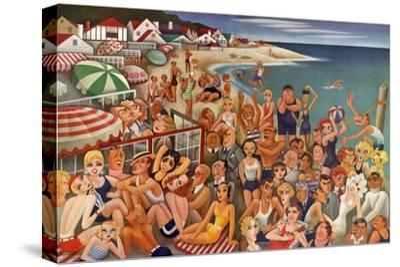 Vanity Fair - September 1933 - Hollywood's Malibu Beach scene