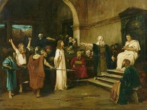Christ Before Pilate, 1880 by Mihaly Munkacsy