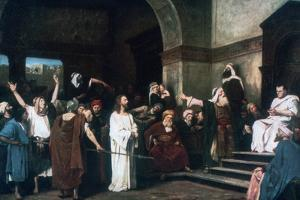 Christ before Pilate, 1881 by Mihaly Munkacsy