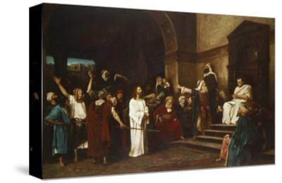 Christ in Front of Pontius Pilate, 1881