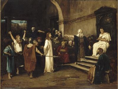 le Christ devant Pilate