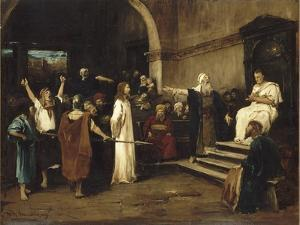 le Christ devant Pilate by Mihaly Munkacsy