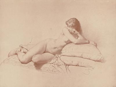 Study of a Reclining Female Nude, 1885