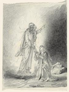 Touch Me Not; Noli Me Tangere by Mihaly von Zichy