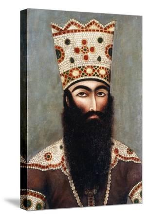 Qajar Royal Portrait; Probably Fath 'Ali Shah (1772-1834), C.1810