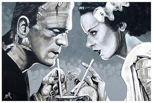 Amorous Libation by Mike Bell