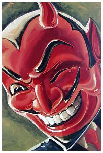 Devilish Grin by Mike Bell