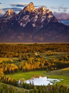 Hedrick Pond and the Grand Teton by Mike Cavaroc